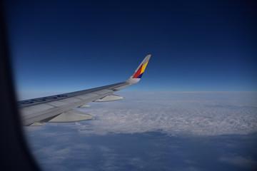 韓国の快適な旅客機