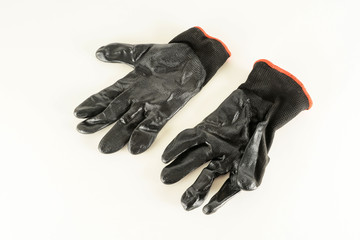Close-up of working glove
