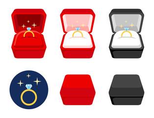 wedding ring box set