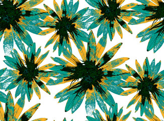 Floral pattern, Floral pattern, seamless in