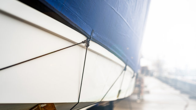 winter protection yacht - cover