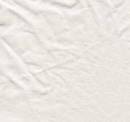 White canvas texture. Natural white linen background