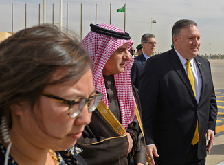 U.S. Secretary of State Mike Pompeo visits Saudi Arabia