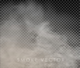 fog and smoke isolated on transparent