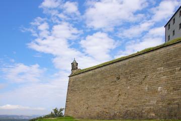 Fortress Koenigstein in Saxon Switzerland, Germany