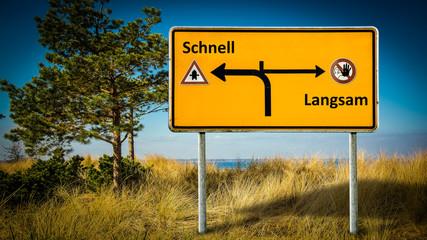 Schild 362 - Schnell