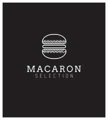 Logo, Nom, Marque, Identité, Pâtisserie, Macaron
