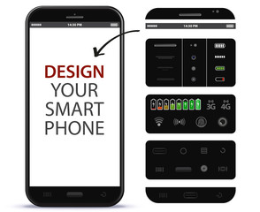 Mobile Phone Vector Design Elements
