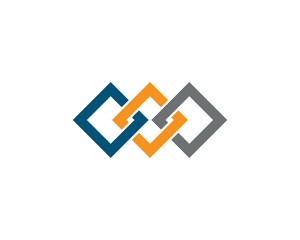 Business corporate abstract unity vector logo