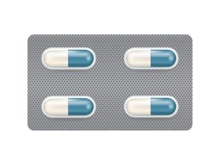 Capsule medicine in blister pack design