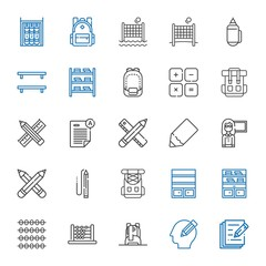 learn icons set