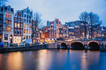 Foto auf AluDibond Amsterdam Amsterdam, pays bas
