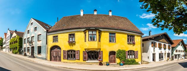 old town of diessen - germany