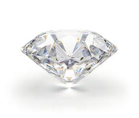 Large transparent diamond