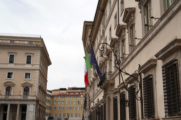 Montecitorio palace place italy chamber of deputies