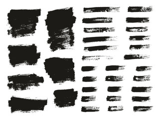 Paint Brush Thin Background & Lines High Detail Abstract Vector Background Mix Set 126