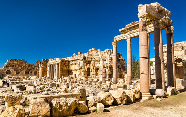 Great Court of the Jupiter Temple at Baalbek, Lebanon