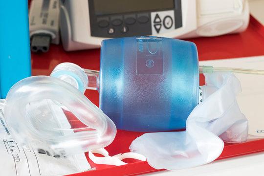 Bag valve mask or ambu bag