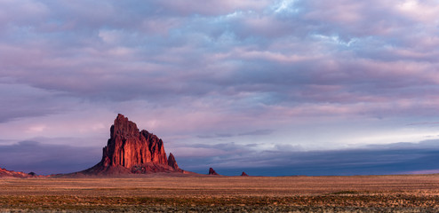 Canvas Prints Lavender Shiprock