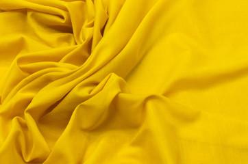 Obraz Cotton fabric, cambric ocher - fototapety do salonu