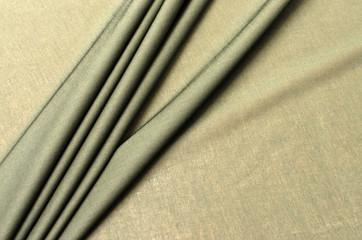 Cotton fabric, cambric khaki