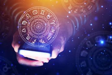 Astrology smartphone app concept