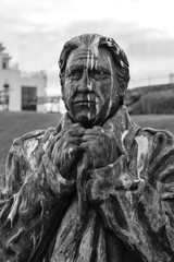 Statues of Sir William Hillary (founder of RNLI), Douglas, Isle of Man