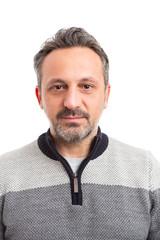 Photo of man wearing sweater.