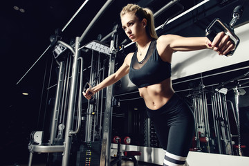 athletic young woman