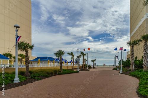 Virginia Beach Boardwalk, Virginia Beach US - September 12