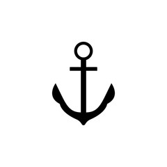 anchor parking icon. Simple glyph vector of universal set icons for UI and UX, website or mobile application