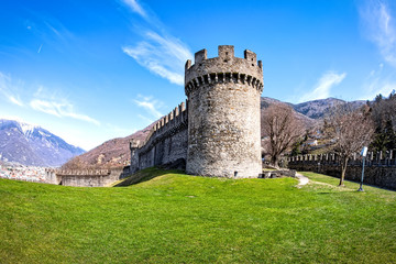 Castello di Montebello  in Bellinzona, Switzerland
