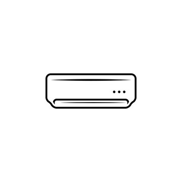 air, conditioner, cooling, heater, split icon. Element of plumbing and heating icon for mobile concept and web apps. Detailed  air, conditioner, cooling, heater, split icon