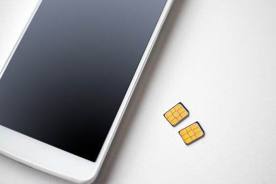 スマートフォン SIMカード
