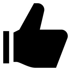 Thumbs Up Like Vector Icon