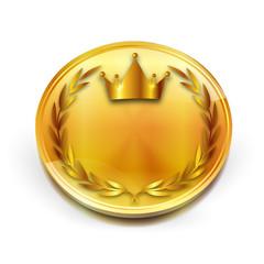 王冠 メダル ローレル アイコン