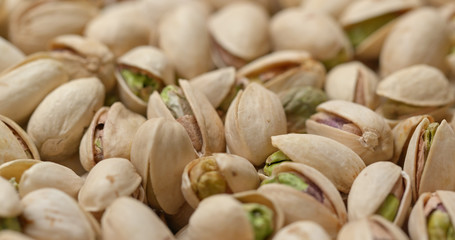 Stack of Baked pistachio