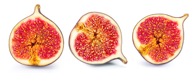 Figs fruits isolated Wall mural