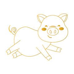 pig smiling icon