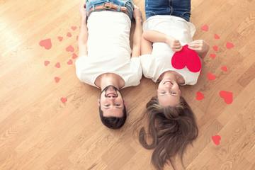 Happy valentines couple