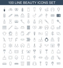 100 beauty icons