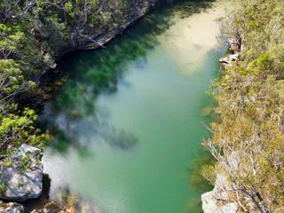Bushland water hole paradise