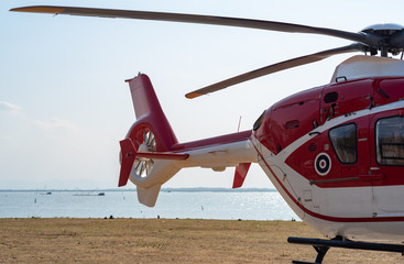 Tails of helicopters