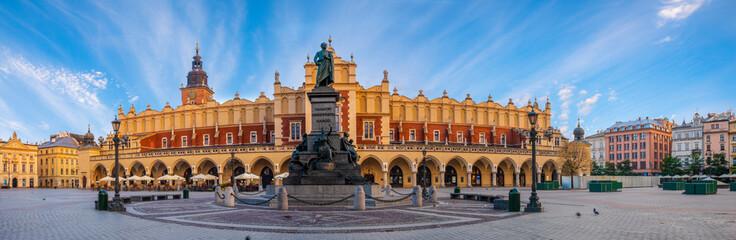 Fototapeta Main Market Square in Krakow,panorama