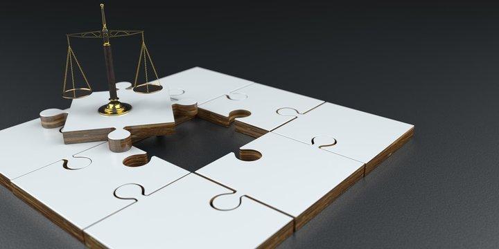 Puzzle Pieces Scale
