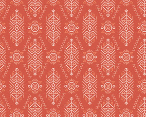 Ethnic Style Vector Seamless Pattern