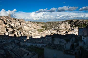 View of Matera, European Capital of Culture 2019