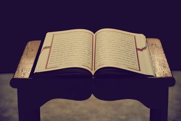 Quran, Kuran, lectern quran black