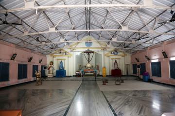 The Catholic Church in Kumrokhali, West Bengal, India