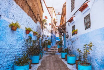 Chefchaouen medina Blue city of Morocco, Africa
